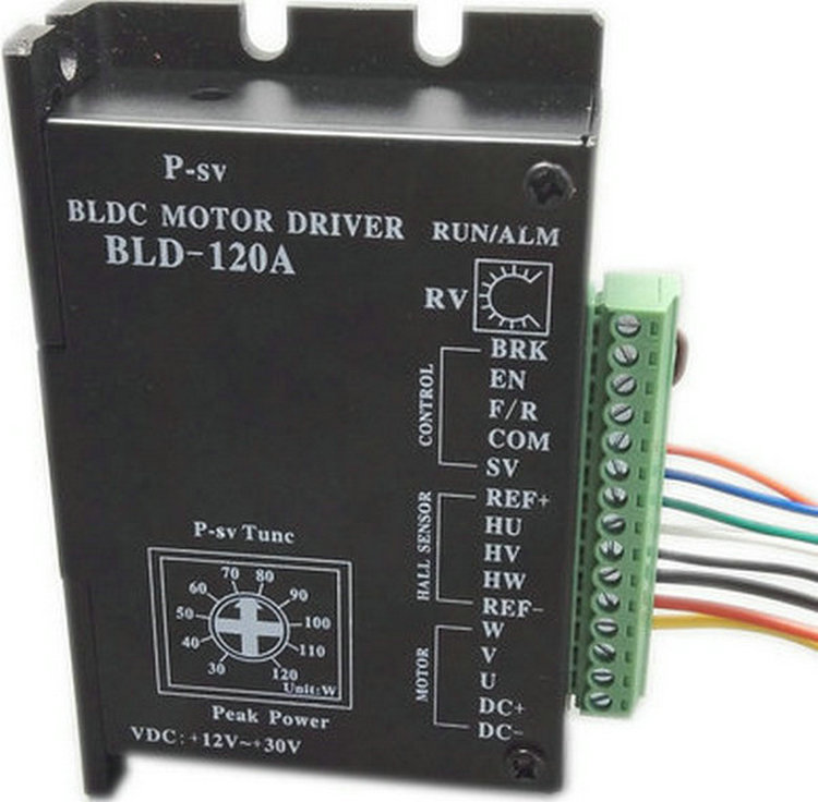 Brushless DC motor Driver BLDC Controller BLD-120A for 42 Brushless Motor brushless dc motor driver bldc controller bld 120a for 42 brushless motor