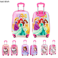 19 inch handbagage Koffer met wielen kids Spinner bagage doos reizen Rollende Bagage trolley tassen kinderen koffer mooie