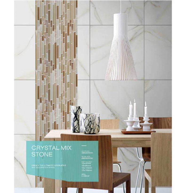 Acquista all'ingrosso online pietra pattern di mosaico da ...