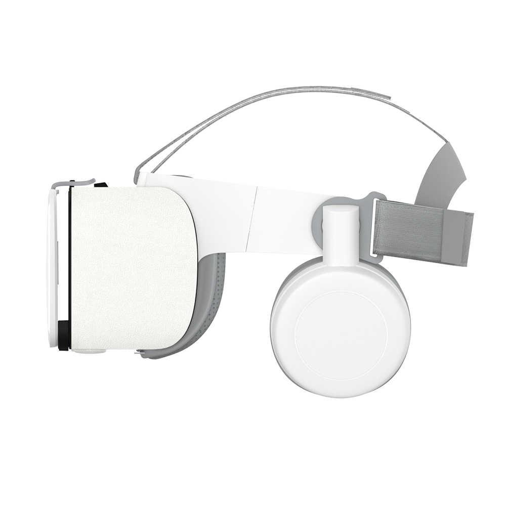2019 Новинка Bobo vr Z6 Очки виртуальной реальности VR очки Беспроводной Bluetooth очки виртуальной реальности IOS и Android дистанционного реальности VR 3D картонные очки 4,7-6,2 дюймов