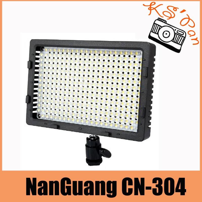NanGuang CN-304 304 LED Camera Video Light Lamp Panel Dimmable for Canon Nikon Pentax DSLR Camera Video Camcorder Free Shipping цена и фото