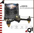 H501S F17999 Original Hubsan X4 5.8G FPV RC Drone Con 1080 P HD Cámara Quadcopter con GPS Sígueme CF Modo de Retorno Automático