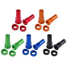 Универсальный красный, черный, синий, оранжевый, зеленый замок для обода, гайка, комплект для мотокросса, грязь, велосипед ямы, обод, гайка, аксессуары для мотоциклов, запчасти#8298