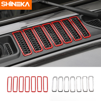 Car Sticker For Jeep Wrangler JL 2018 Up Car Front Engine Hood Air Conditioning AC Vent Cover Accessories For Jeep Wrangler 2019