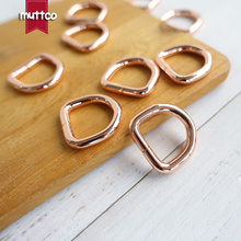 Несварные d-кольца 15 мм тесьма обвязка обмотка d-образная застежка аксессуар металлические поделки d-кольца кирзит полукруглая Кнопка DK-015R