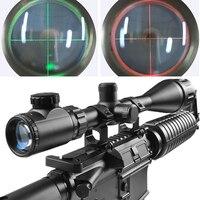 6-24x50 Beleuchtet Mil Dot Absehen Tactical grüne und red Optics Mit Einem Staubschutz Für Zielfernrohre Qz0153