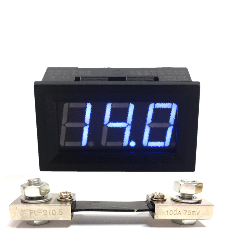 digital ammeter dc 0 100a current ampere amp meter with miniature wire chairs dollhouse miniature wire furniture