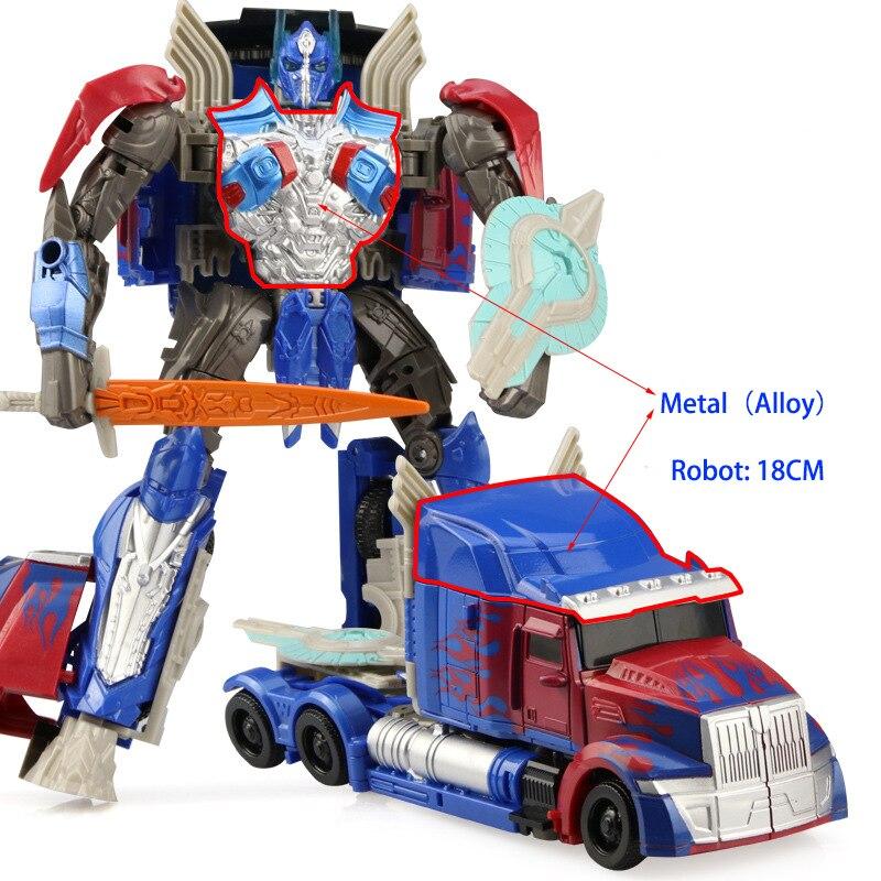 Image 5 - トランスフォーマー変形ロボット少年のおもちゃ変換車オプティマスプライムバンブルビーロールバーアクションフィギュア知育玩具ギフト -     グループ上の おもちゃ