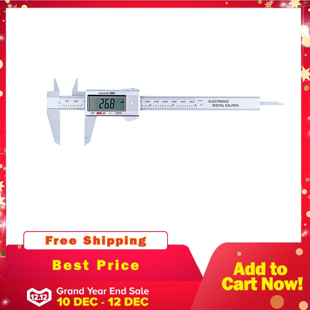 "12/""  300mm Digital Electronic SAE//MM//Fraction Micrometer Caliper w// LCD Screen"