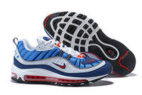 Classic NIKE Air Max 98 OG Men's Unique Air Sole Sport Running Shoes,Nike Male Training Outdoor Durable Track Sneakers MS037033