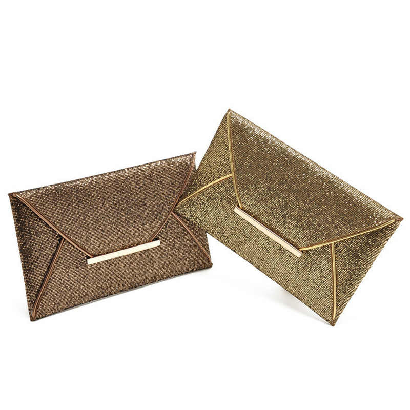 968e9fa87f Women Clutch Bag Glitter Sequin Evening Party Bags Female Tote Messenger  Bags Ladies Envelope Handbag For Shopping Phone SS0422