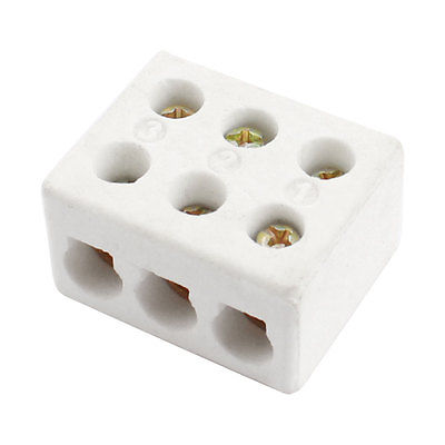 aliexpress com buy 6mm wiring hole dia porcelain ceramic terminal rh aliexpress com 66 Block Color Code Telephone Connection Block