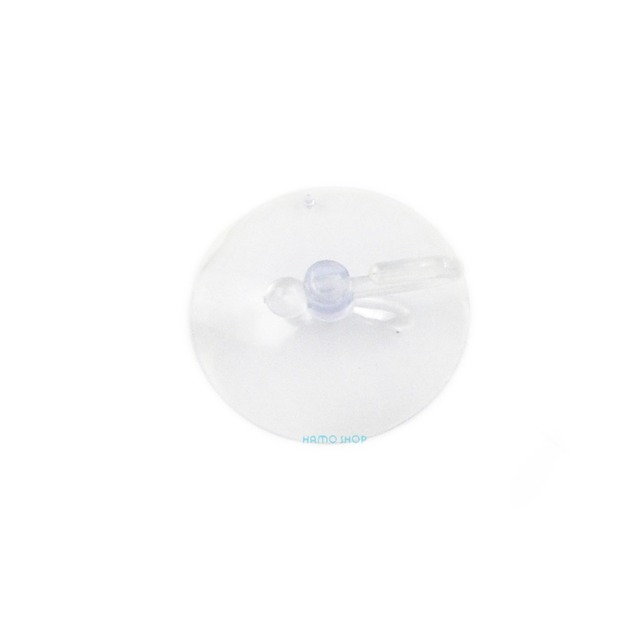 5pcs 60mm With Hook Clear Suction Cup Seamless Sucker Head Clip Pad Plastic Rubber