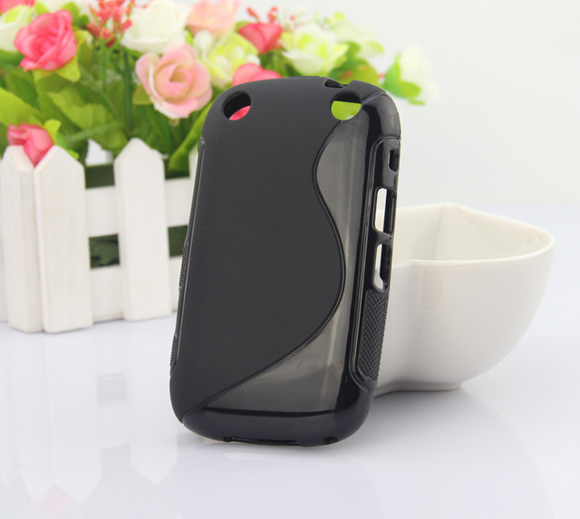 in stock fashion S Line S type Soft Cover TPU case protector case For blackberry 9220 mobile phone