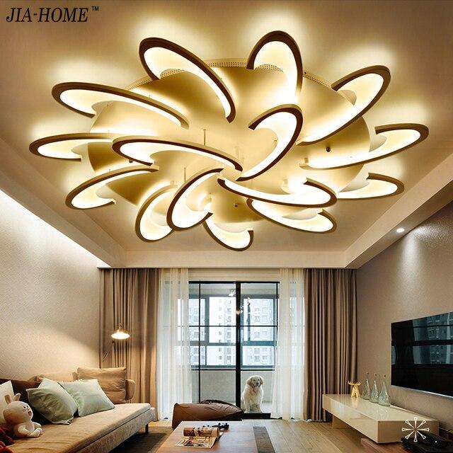 US $87.21 49% OFF|Fernbedienung led deckenleuchte mit Ultra thin Acryl  lampe decke für wohnzimmer bettzimmer unterputz lamparas de techo in ...