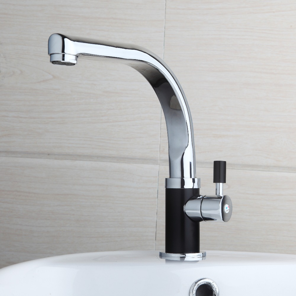 Kitchen Faucet Polished Chrome Hot selling Free shipping Kitchen bathroom sink basin mixer tap Basin chrome
