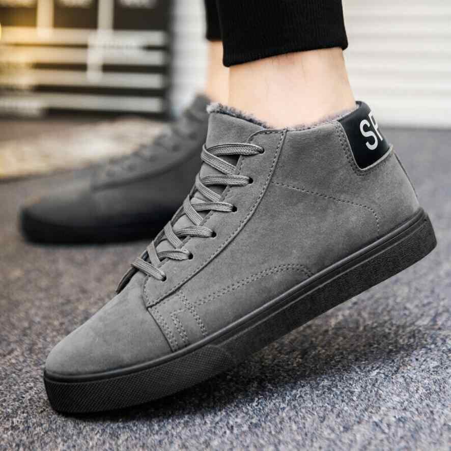 a950d5928a82 Мужские зимние ботинки на меху, 2018 теплые зимние ботинки, мужские зимние  ботинки, Рабочая