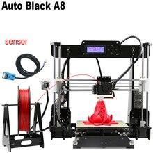 Anet a8 auto level 3d принтер reprap prusa i3 diy комплекты автоматическое выравнивание 3D Принтер DIY Kit С 10 м Нити 8 ГБ Карты