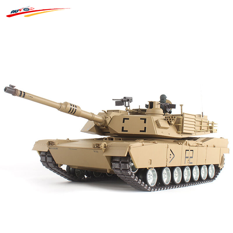RC Tank 2 4G 1 16 US M1A2 Abrams Radio Remote Control Battle Tank Airsoft with