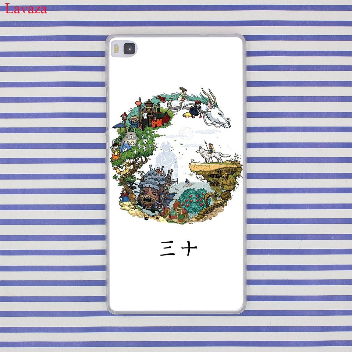 Lavaza cartoon My Neighbor Totoro Hard Case for Huawei P20 P10 P9 Plus P8 Lite Mini 2015 2016 2017 P Smart Mate 9 10 Lite Pro