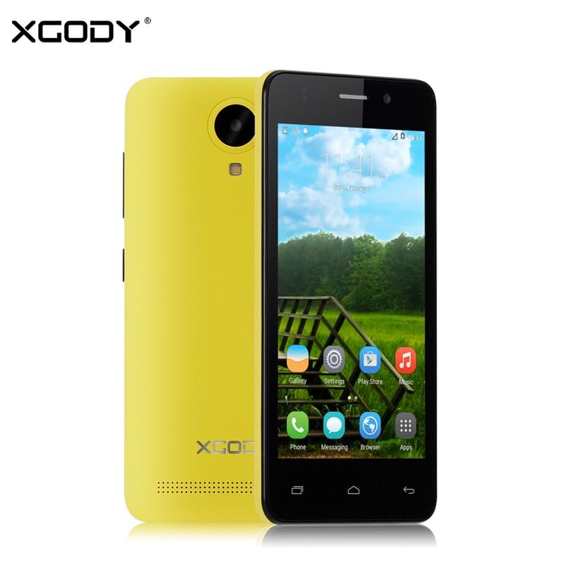 XGODY G12 3G 4.5 Inch Quad Core MTK6580 1GB RAM 8GB ROM 5.0MP GPS WiFi Dual SIM Phone Unlocked Android Smartphone