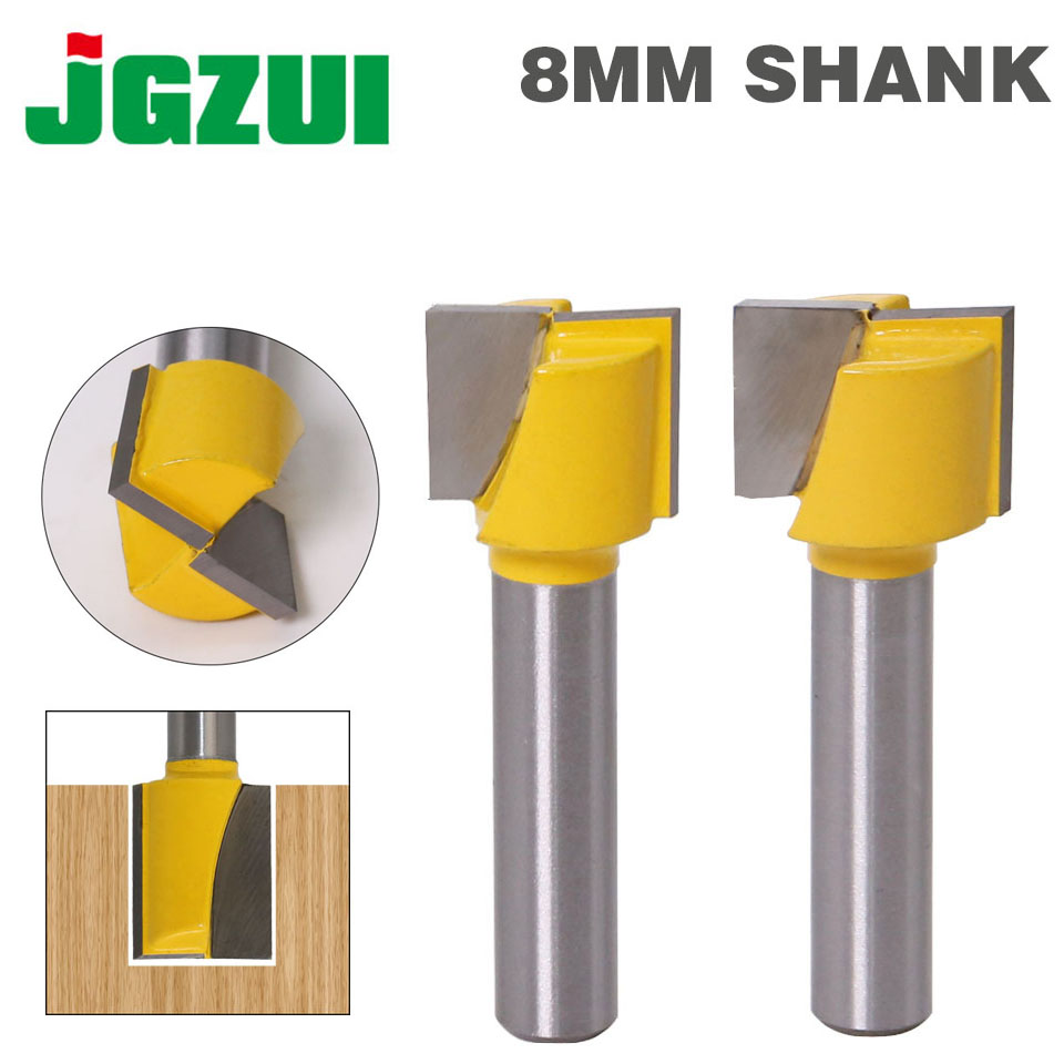 """1"""" Bottom Cleaning Router Bit - 8"""" Shank"""