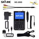 Hot selling Original Satlink WS-6906 DVB-S FTA Digital Satellite Signal Meter 3.5 inch LCD HD WS 6906 satellite Finder WS6906