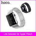 Qualidade superior cinta relógio do esporte do metal pulseiras para rastreador de fitness faixa de relógio de aço inoxidável para a apple watch iwatch 38mm 42mm