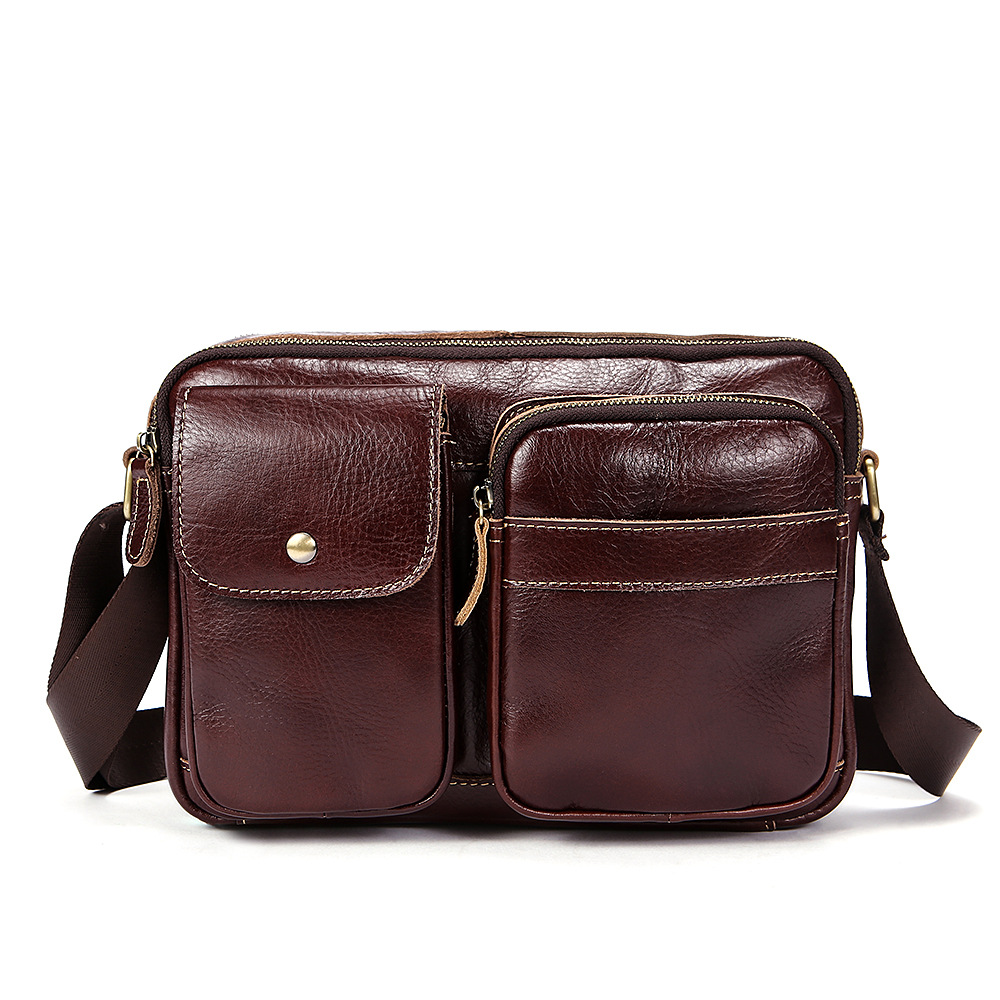 Bolsa Masculina New Arrivals Luxurious 100% Genuine Leather Men Messenger Bags 2018 Europe and American Large Capacity Man Bag pamaskin 2018 new arrivals casual retro men messenger bags 100