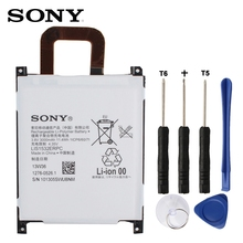 Original SONY Battery For Xperia Z1 L39T L39U LIS1532ERPC 3000mAh Authentic Phone Replacement