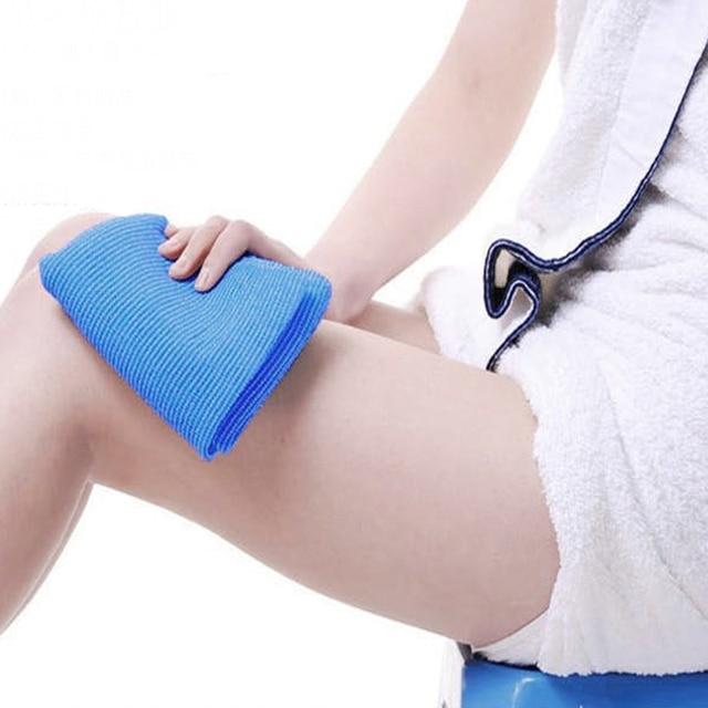 5 pz Corpo Bagno Esfoliante Panno Per Il Viso Da Bagno Macchia Stoffa Accessori