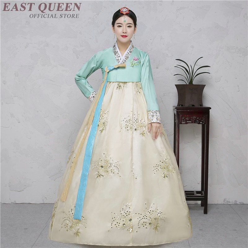 Hanbok Korean National Costume Korean Traditional Dress Cosplay Korean Hanbok Wedding Dress Performance Clothing Hanbok KK2259