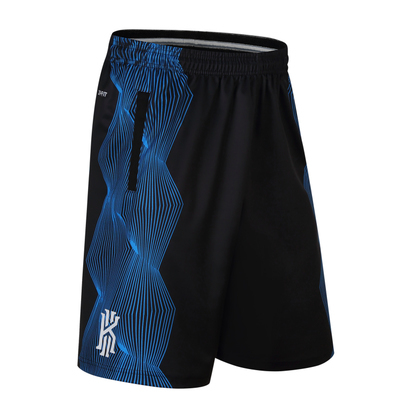 2d53659d2cc US $11.15 34% OFF|SYNSLOVEN design stripe training basketball running kyrie  irving sport shorts loose half length plus size with double pocket-in ...