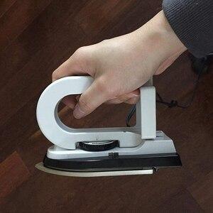 Image 3 - Portalbe mini ferro dobrável elétrica dupla tensão ferros dobrável à prova de poeira compacto pequeno para viagem escola roupas para casa 1