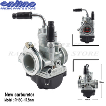 New carburetor 17.5  mm Motorcycle Parts Carb For PHBG17.5 free shipping