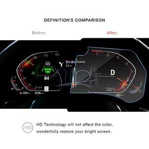 Image 4 - RUIYA מסך מגן עבור BMW X5 G05 LCD מכשיר פנל מסך, 9 שעתי מזג זכוכית מגן הגנה מפני נזק יומי