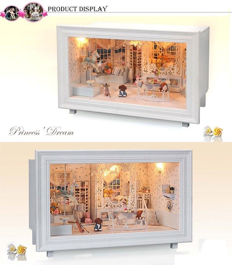 Princess Dream DIY 3D Frame Miniature