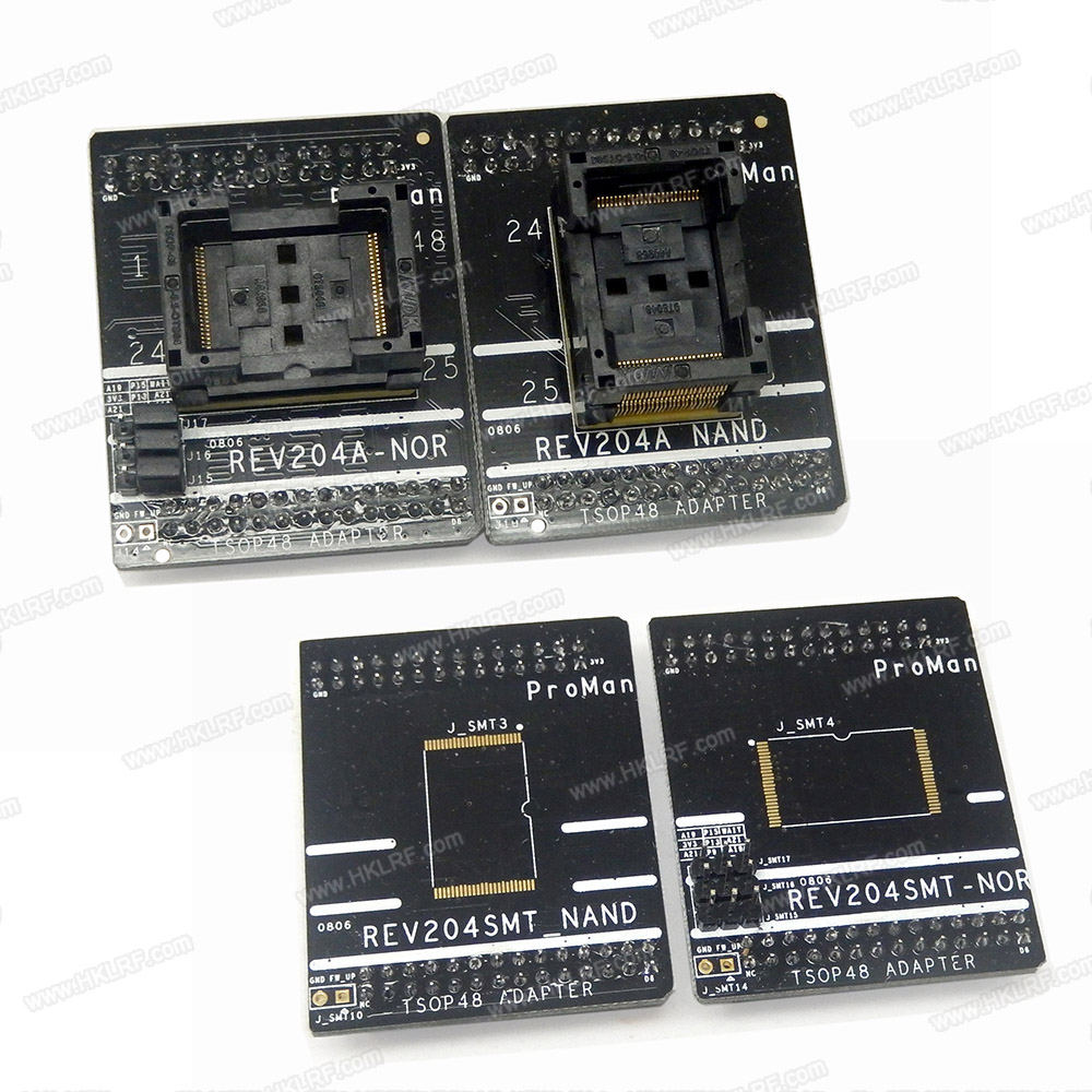 Image 4 - ProMan Professional nand flash Programmer  NAND NOR +TSOP48 Adapter +TSOP56 Adapter TL86 PLUS programmer High Programming speed-in Integrated Circuits from Electronic Components & Supplies