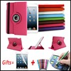 Top Sellling Litchi PU Leather Case For Ipad 6 9 7 360 Rotating Cover For Ipad