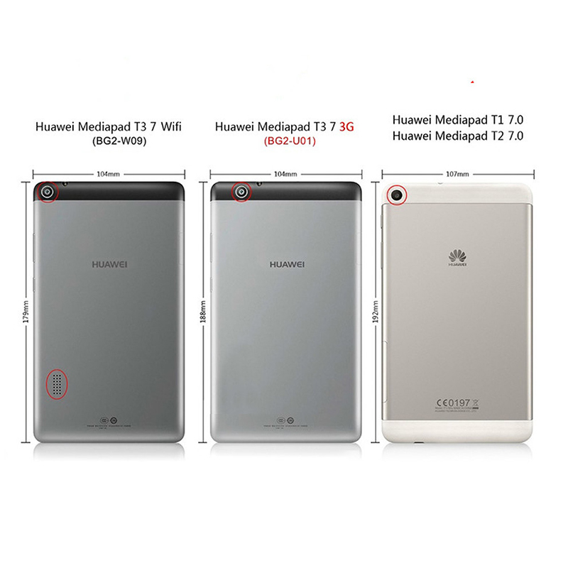 9H 7 Tempered Glass Clear Screen Protector Glass for Huawei Models 1