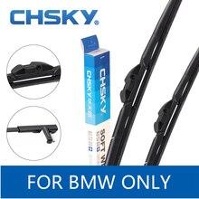 CHSKY передняя щетка стеклоочистителя для лобового стекла автомобиля для BMW X5 E70, X1 E84, X3 F25, X5 F15, X6 E71, подходит для BMW Z4, X5 1999- Стеклоочистители