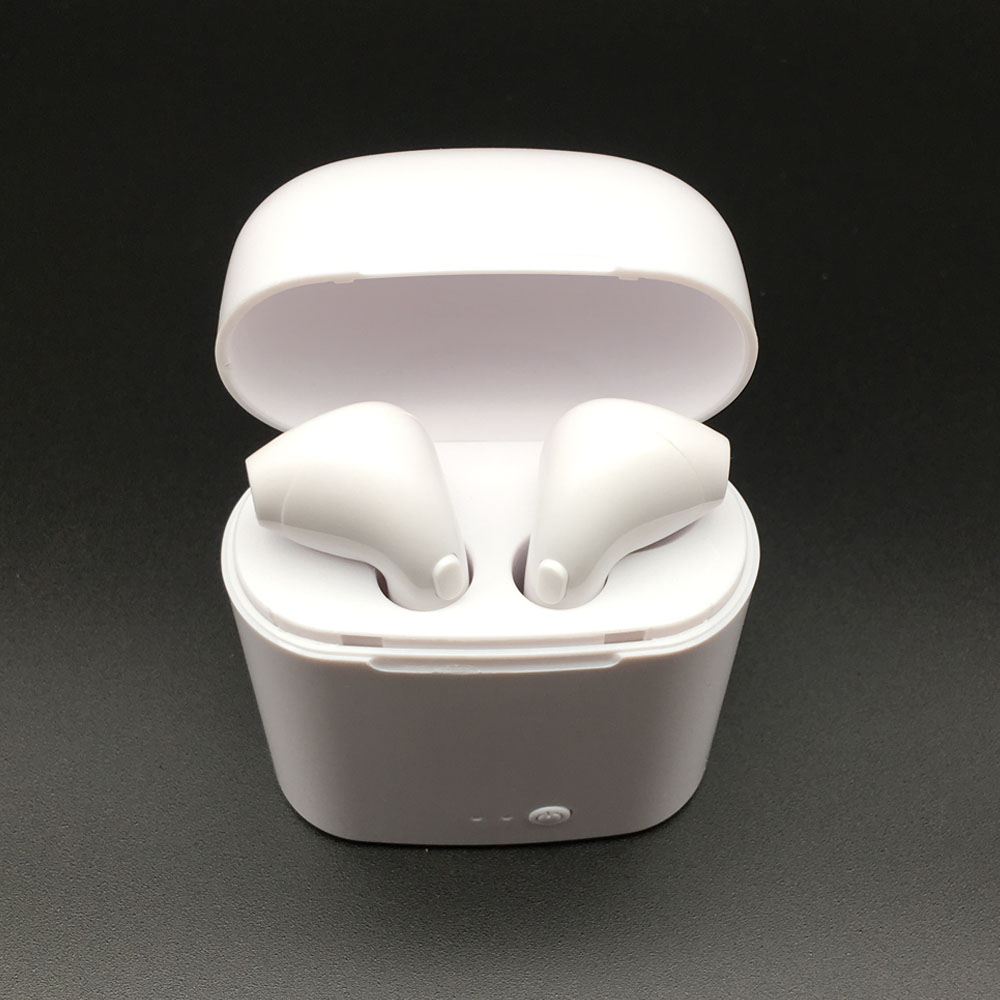 Auricular I7s Mini inalámbrico Bluetooth auriculares inalámbricos auriculares del gancho del oído auriculares micrófono para iPhone teléfono Android