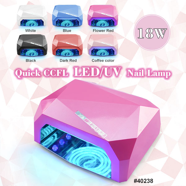 40238 quick CCFL LED Nail Lamp 18W,fast dryer led lamp-in Nail Art ...