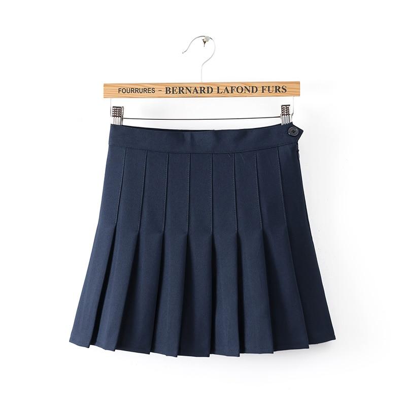 Плиссированные школьные юбки купить