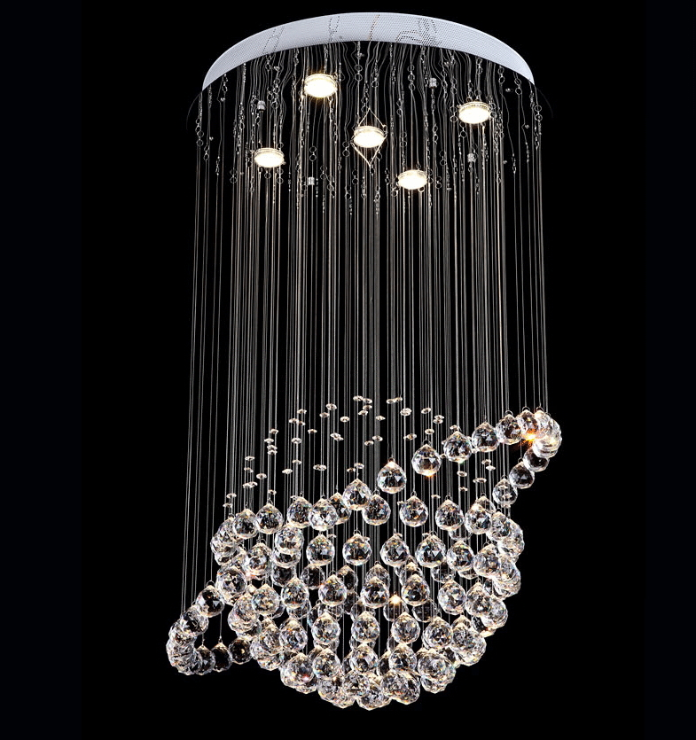 modern led crystal ceiling lights cristal lustres fitting flush mount lighting fixtures globe design lamp for cheap modern lighting fixtures