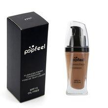 2017 Brand Makeup Base Face Liquid Foundation Cream Concealer Moisturizer Oil-control Whitening Waterproof Maquiagem