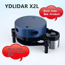 EAI YDLIDAR capteur lidar conserve laser radar 8 mètres YDLIDAR X2L ROS véhicule navigation expédition de russe et chinois