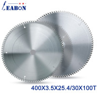 LEABON TCT Saw Blade 400x100Tx3.5x25.4/30mm Circular Saw Blade for Wood Cutting