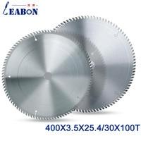 LEABON TCT Saw Blade 400x100Tx3.5x25.4/30mm Circular Saw Blade for Wood Cutting