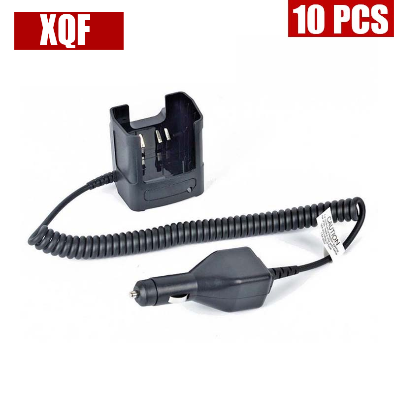 XQF 10PCS  Car Battery Charger For Motorola HT750 HT1250LS GP328 Radio RLN4883B
